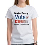 Make Every Vote Count Women's T-Shirt