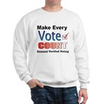Make Every Vote Count Sweatshirt