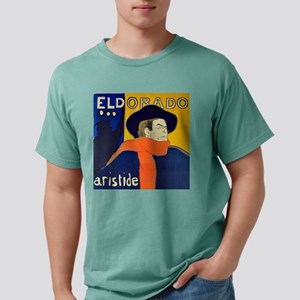 Eldorado art by Toulouse Mens Comfort Colors Shirt