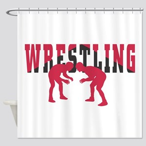 Wrestling 2 Shower Curtain