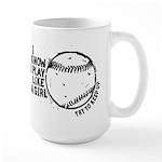 I Know I Play Like A Girl Large Mug