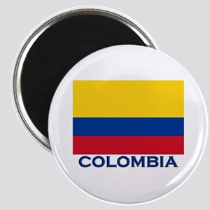 Colombia Flag Gear Magnet