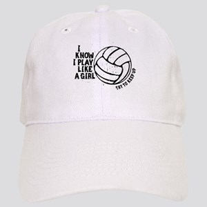 Play Volleyball Like a Girl Cap