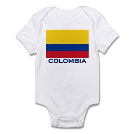 Colombia Flag Gear Infant Bodysuit