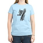 I Ride Like A Girl Women's Light T-Shirt