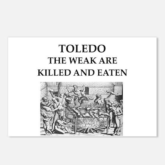 toledo Postcards (Package of 8)