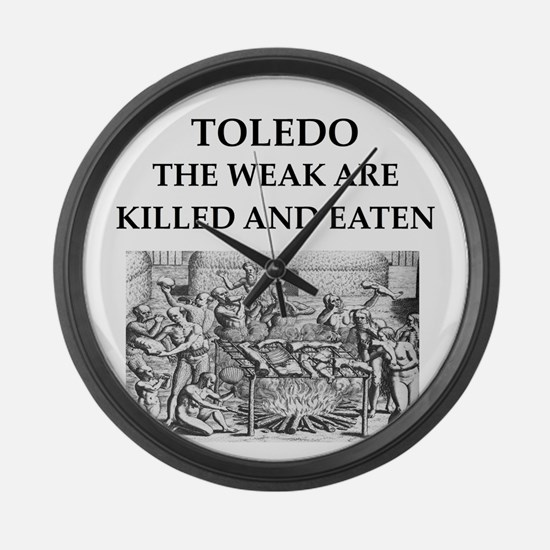 toledo Large Wall Clock