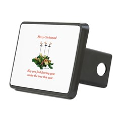 Fencing Christmas Hitch Cover