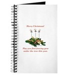 Fencing Christmas Journal