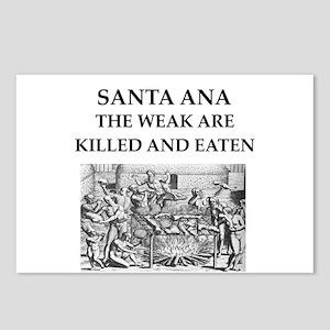 SANTA ANA Postcards (Package of 8)