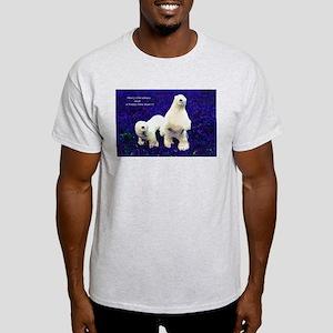 Christmas Icebear Light T-Shirt
