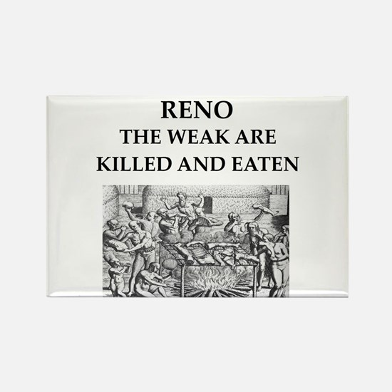 reno Rectangle Magnet
