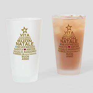 Buon Natale Drinking Glass