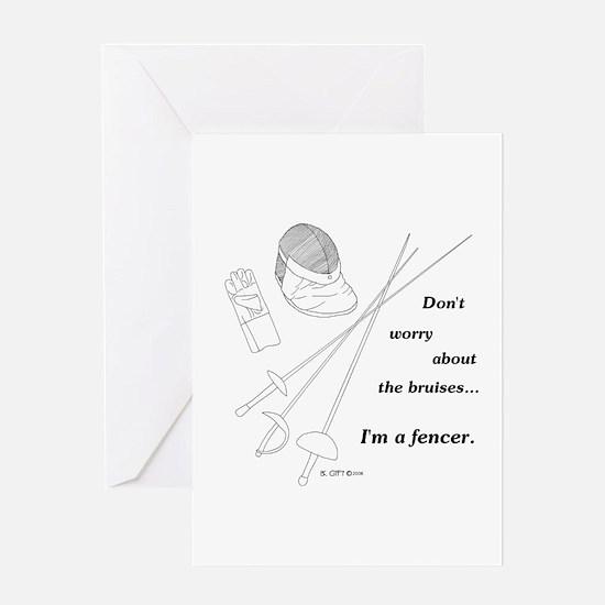 Bruises Greeting Card