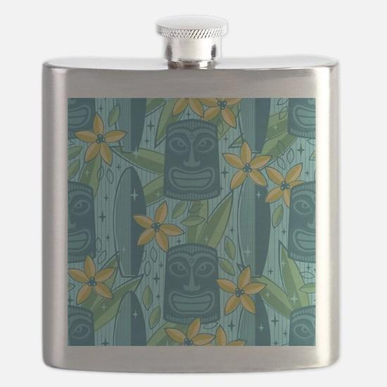 Unique Tiki Flask