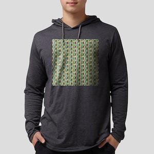 Tiki Garden Mens Hooded Shirt