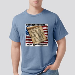 stand for something Mens Comfort Colors Shirt