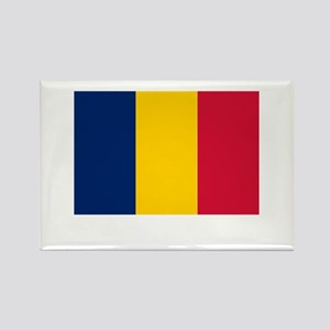 Chad Flag Picture Rectangle Magnet