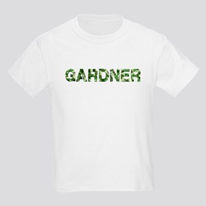 Gardner, Vintage Camo, Kids Light T-Shirt
