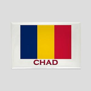 Chad Flag Stuff Rectangle Magnet