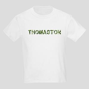 Thomaston, Vintage Camo, Kids Light T-Shirt