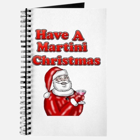 Have A Martini Christmas Journal