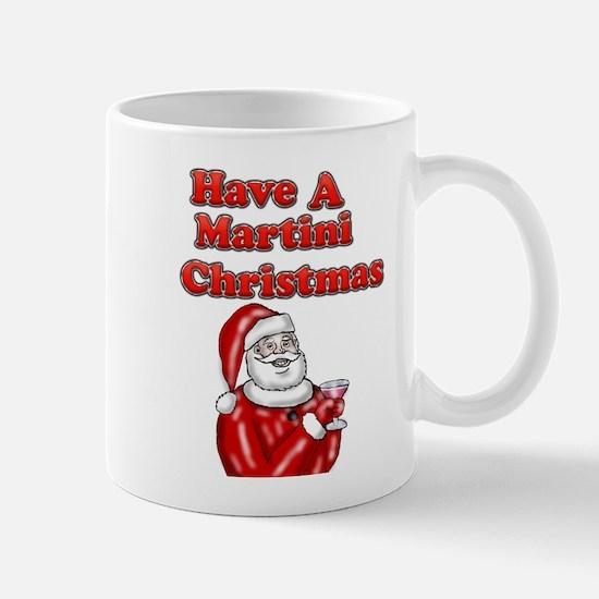 Have A Martini Christmas Mug