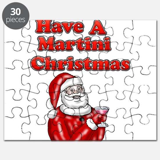 Have A Martini Christmas Puzzle