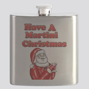 Have A Martini Christmas Flask