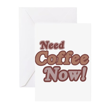 Coffee Greeting Cards (Pk of 10)