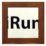 iRun Framed Tile