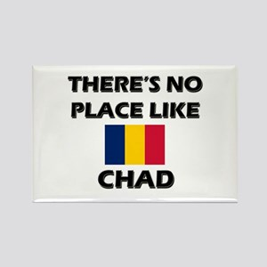 There Is No Place Like Chad Rectangle Magnet