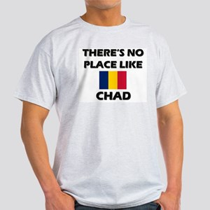 There Is No Place Like Chad Ash Grey T-Shirt