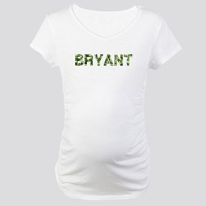 Bryant, Vintage Camo, Maternity T-Shirt