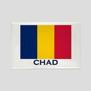 Chad Flag Merchandise Rectangle Magnet