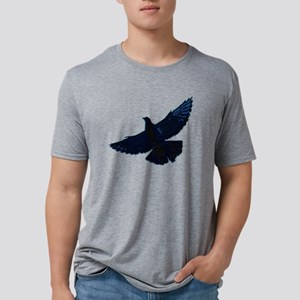 2-pigeonsquares Mens Tri-blend T-Shirt