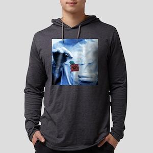 Environmental contamination Mens Hooded Shirt