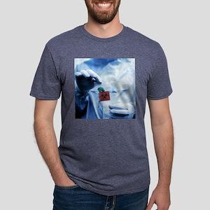 Environmental contamination Mens Tri-blend T-Shirt