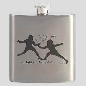 Foil Point Flask