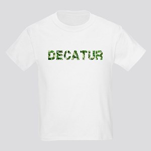 Decatur, Vintage Camo, Kids Light T-Shirt