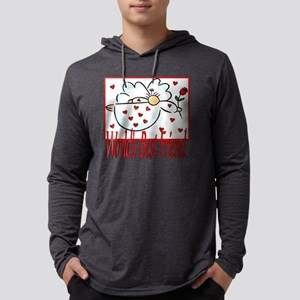 10x10_apparel Angelworldsbestfri Mens Hooded Shirt