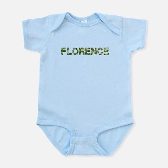 Florence, Vintage Camo, Infant Bodysuit