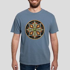 Native American Rosette  Mens Comfort Colors Shirt