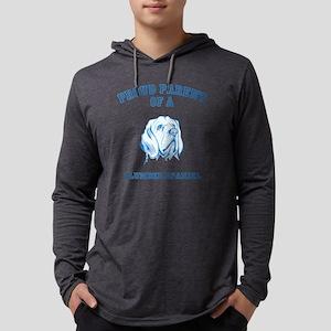 Clumber SpanielD Mens Hooded Shirt