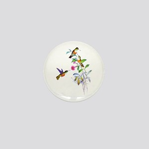 Hummingbirds Mini Button
