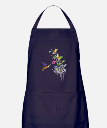 Hummingbirds Apron (dark)