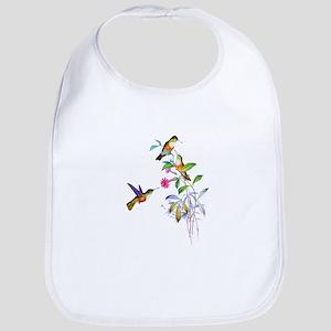 Hummingbirds Bib