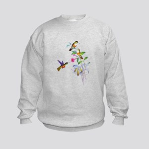 Hummingbirds Kids Sweatshirt