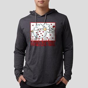 10x10_apparel Angelworldsbestnan Mens Hooded Shirt