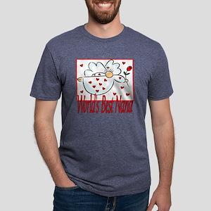 10x10_apparel Angelworldsbe Mens Tri-blend T-Shirt